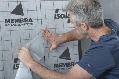 Isola mann monterer Membra selvklebende membran