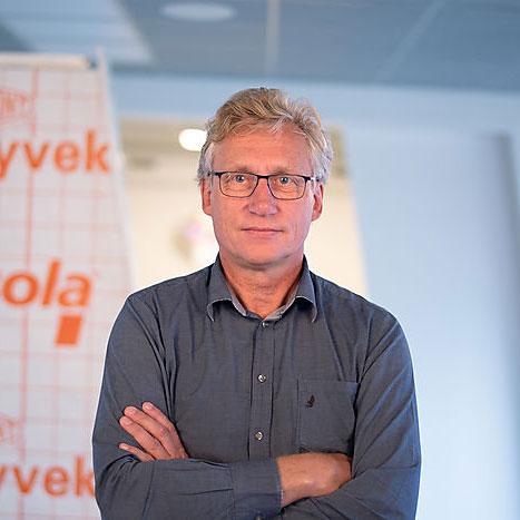 Jørgen Young, leder av Innovasjon og utvikling på Isola